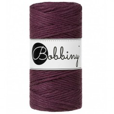 Bobbiny macramé šňůry Regular 3 mm blackberry
