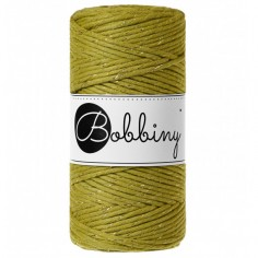 Bobbiny macramé šňůry Regular 3 mm goldenkiwi
